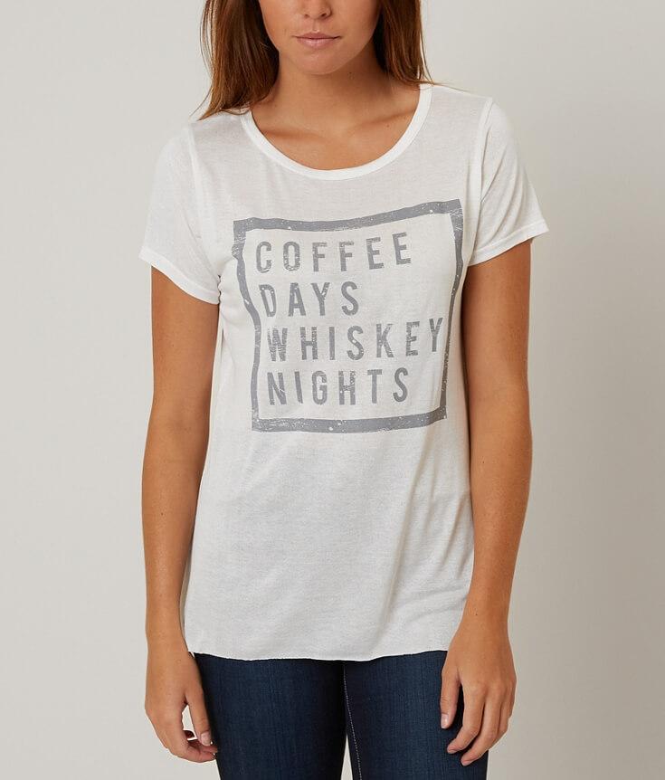 H.I.P. Coffee Days Whiskey Nights Top