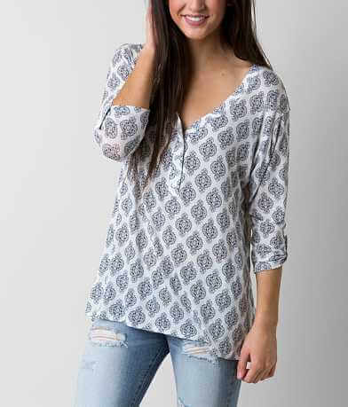 H.I.P. Knit Henley Top