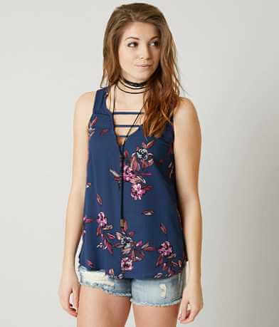 H.I.P. Floral Tank Top
