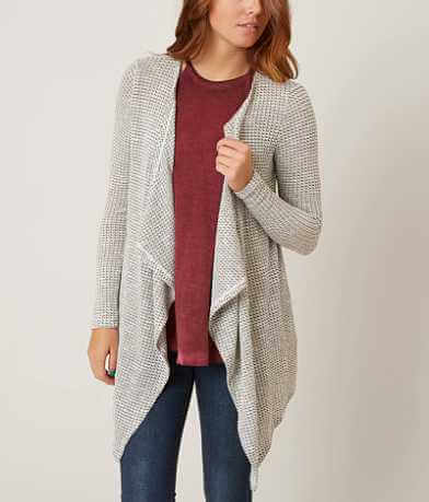 H.I.P. Open Weave Cardigan Sweater