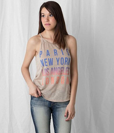 Freshwear Paris New York LA London Tank Top