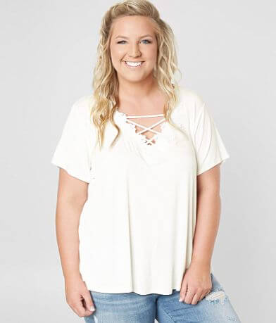 Daytrip Strappy Top - Plus Size Only