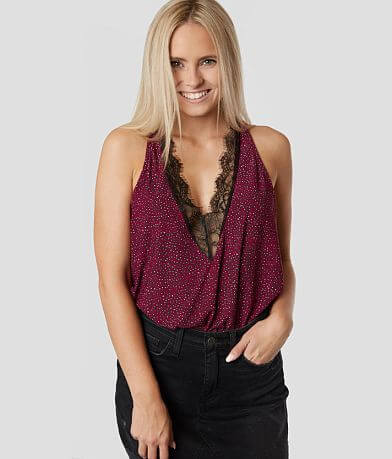 Daytrip Flowy Leopard V-Neck Tank Top