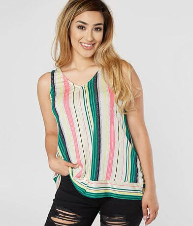 Daytrip Striped Knit Tank Top