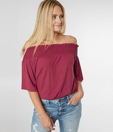 537ebdf96f5 Off The Shoulder Tops, Dresses, & Sweaters | Buckle
