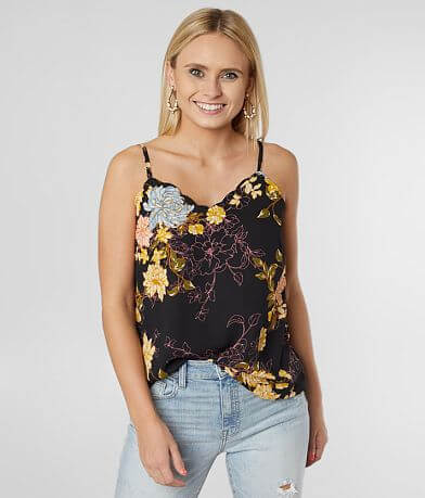Daytrip Floral Printed Tank Top
