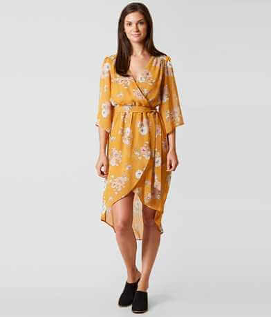 Daytrip Floral Faux Wrap Dress