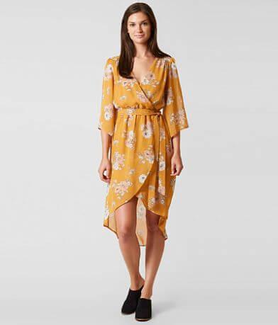 Daytrip Floral Faux Wrap Dress