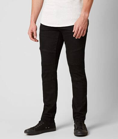 Crysp Denim Biker Skinny Jean