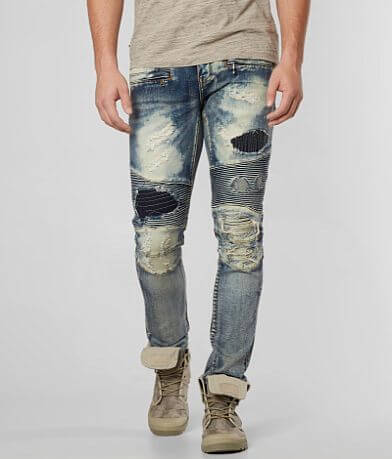 Crysp Denim Goya Biker Skinny Stretch Jean