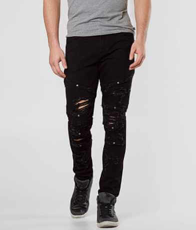 Crysp Denim Duchamp Biker Skinny Stretch Jean