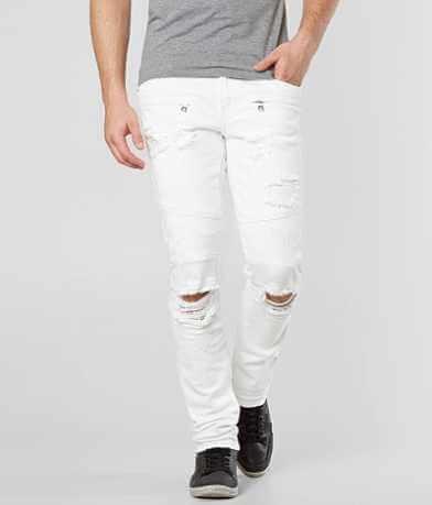 Crysp Denim Durer Biker Skinny Stretch Jean