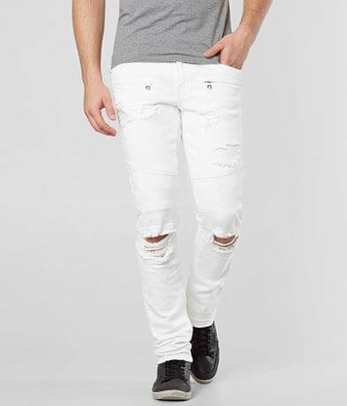 Crysp Denim Durer Biker Skinny Stretch Jean