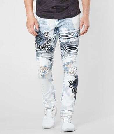 Crysp Denim Orwell Biker Skinny Stretch Jean