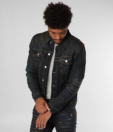 Crysp Denim Theo Denim Stretch Jacket