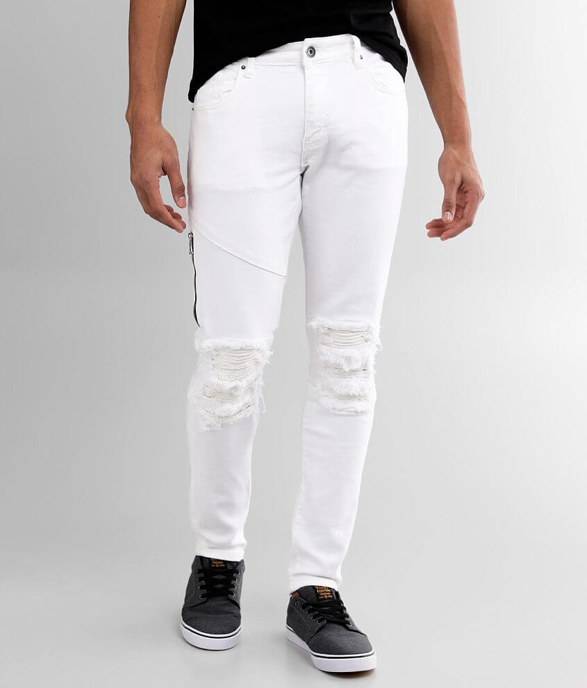 Crysp Denim Mooney Skinny Stretch Jean front view