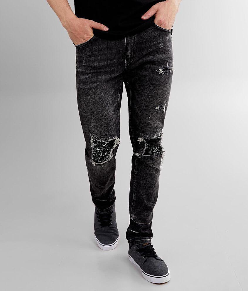 Crysp Denim Wex Skinny Stretch Jean front view