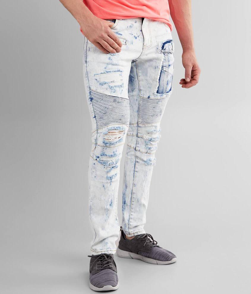 Crysp Denim Ronnie Skinny Stretch Jean front view