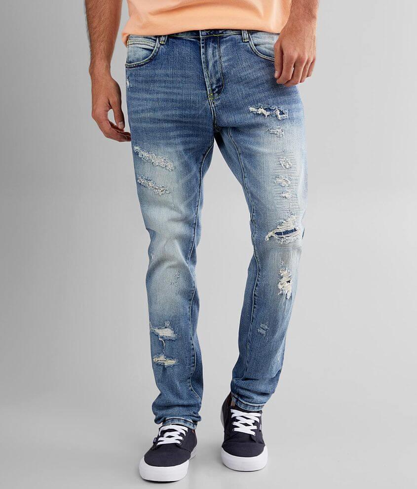 Crysp Denim Daymond Skinny Stretch Jean front view