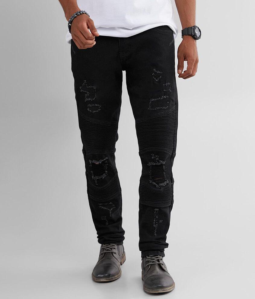 Crysp Denim Lance Skinny Stretch Jean front view