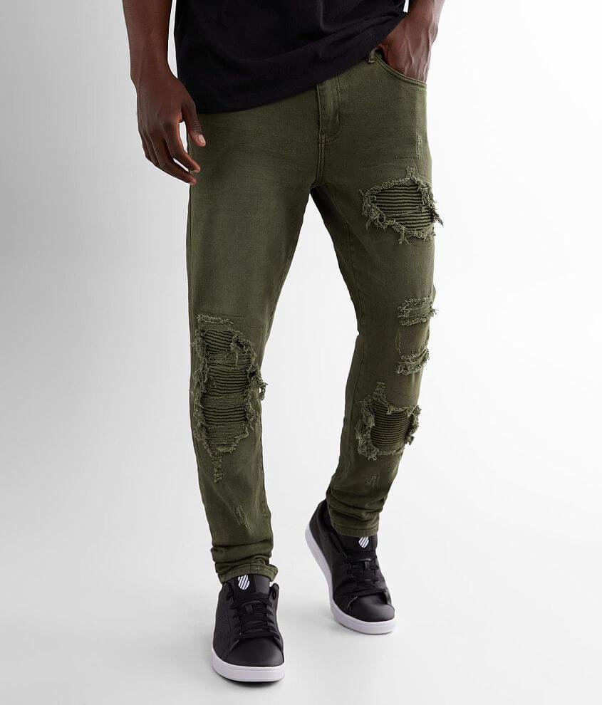 Crysp Denim Ricky Skinny Stretch Jean front view