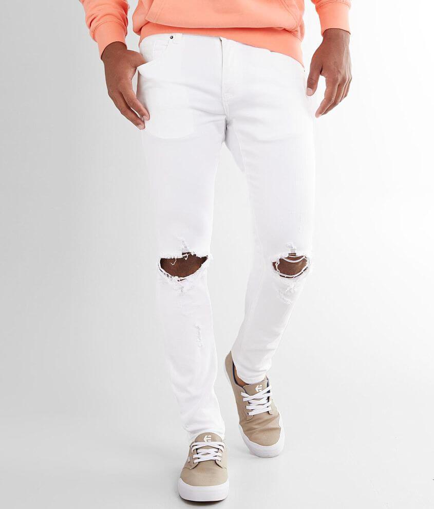 Crysp Denim Malibu Skinny Stretch Jean front view