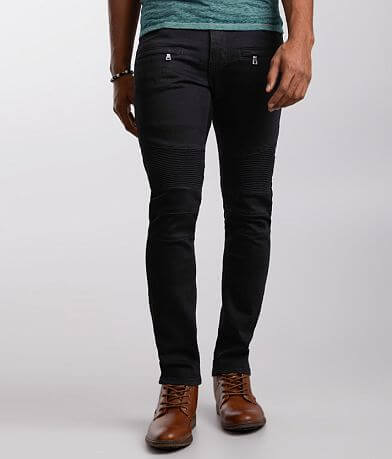 Crysp Denim Armando Moto Skinny Stretch Jean