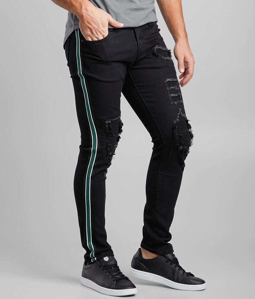 Crysp Denim Brower Skinny Stretch Jean front view