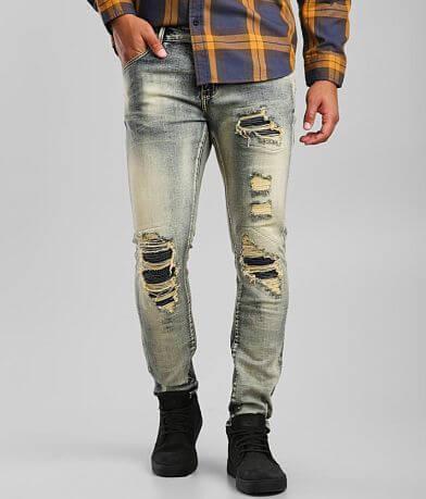Crysp Denim Otto Moto Skinny Stretch Jean