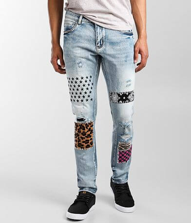 Crysp Denim Oliver Skinny Stretch Jean