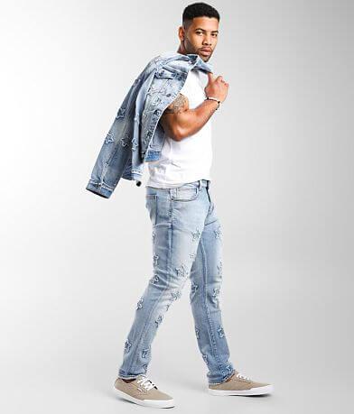 Crysp Denim Banner Skinny Stretch Jean