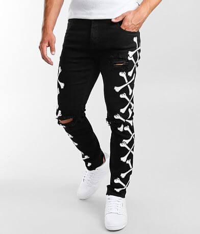 Crysp Denim Bones Skinny Stretch Jean