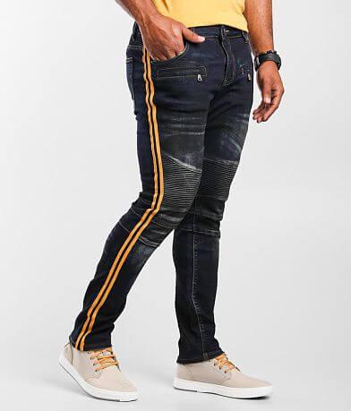 Crysp Denim Oshea Moto Skinny Stretch Jean