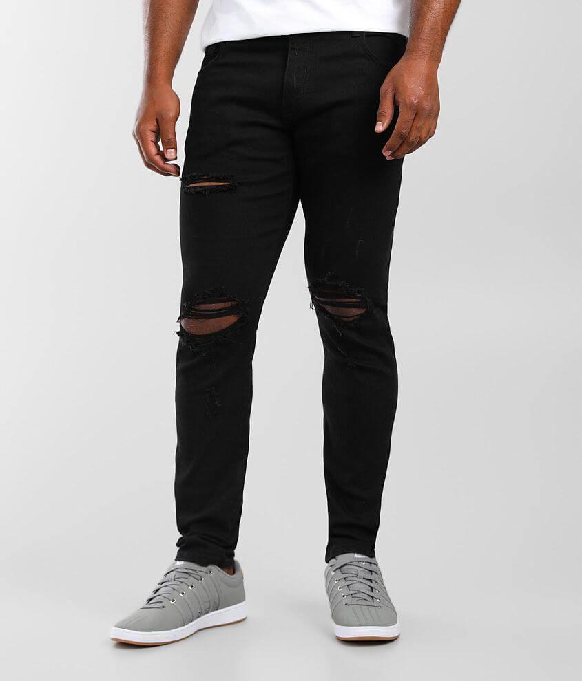 Crysp Denim Arnold Skinny Stretch Jean front view