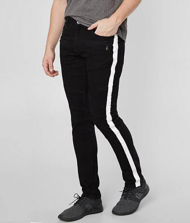 Crysp Denim Tucker Biker Skinny Stretch Jean
