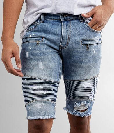 Crysp Denim Jordan Biker Stretch Short