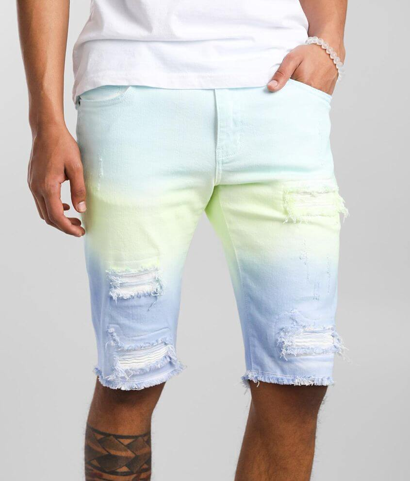 Crysp Denim Tyler Stretch Short front view