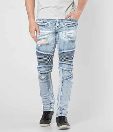 Crysp Denim Salinger Biker Skinny Stretch Jean