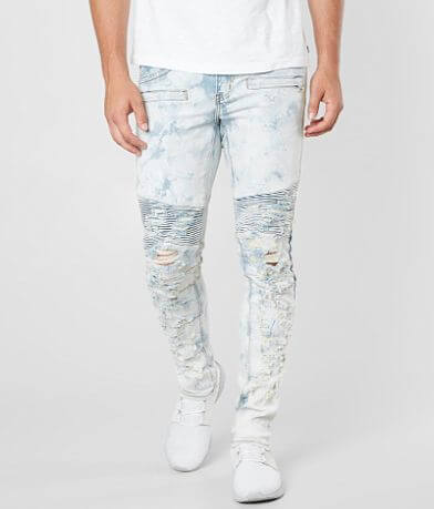 Crysp Denim Patinir Biker Skinny Stretch Jean