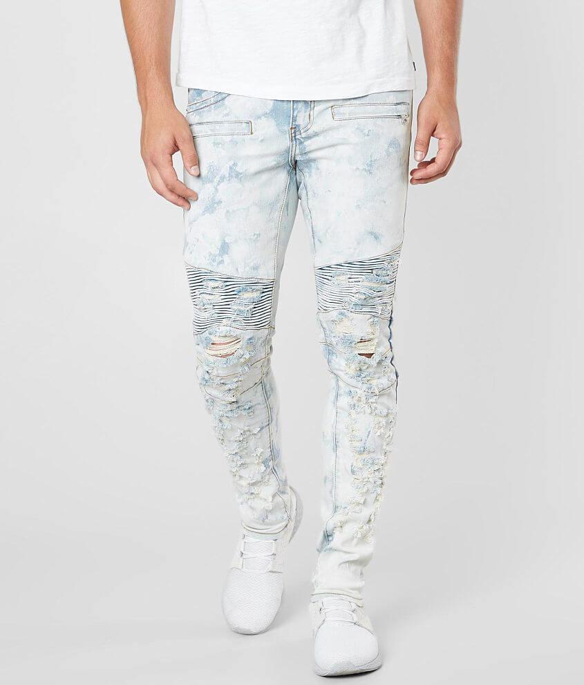 a02833b993c9 Crysp Denim Patinir Biker Skinny Stretch Jean - Men's Jeans in Light ...