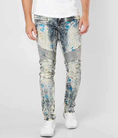 Crysp Denim Matis Biker Skinny Stretch Jean