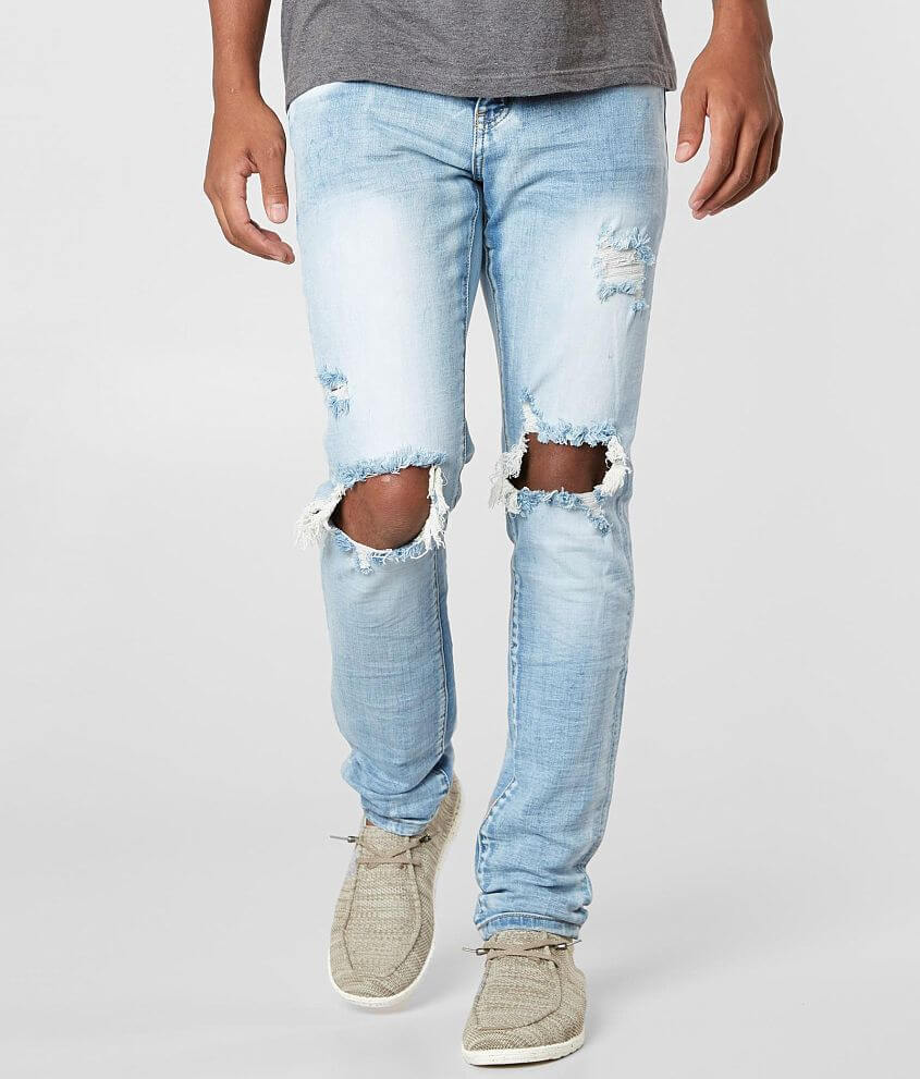 Crysp Denim Rockwell Skinny Stretch Jean front view