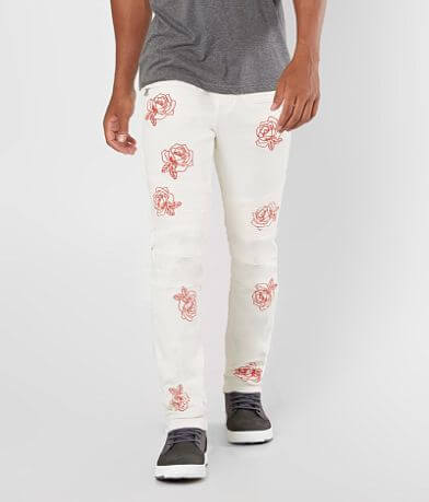 Crysp Denim Calder Biker Skinny Stretch Jean