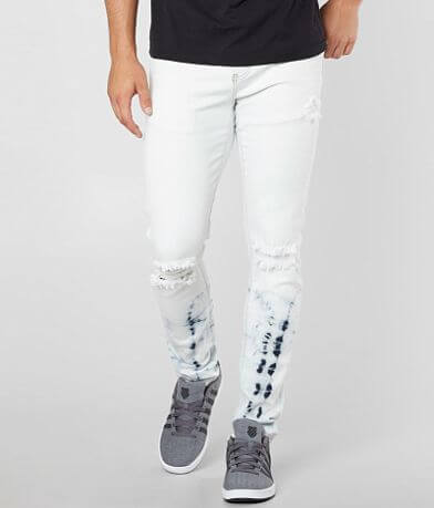 Crysp Denim Mondrian Skinny Stretch Jean