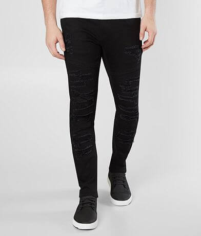 Crysp Denim Magritte Ripped Skinny Stretch Jean