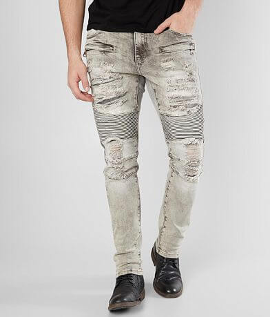 Crysp Denim McCormick Biker Skinny Stretch Jean