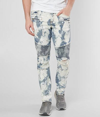 Crysp Denim Marsh Biker Skinny Stretch Jean