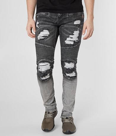 Crysp Denim Larsen Biker Skinny Stretch Jean