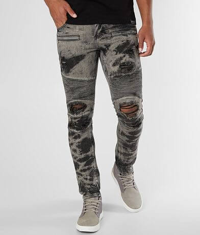 Crysp Denim Guile Biker Skinny Stretch Jean