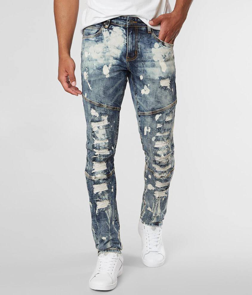 Crysp Denim Sanchez Skinny Stretch Jean front view